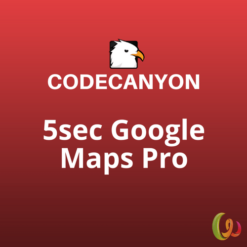5sec Google Maps Pro WordPress Plugin
