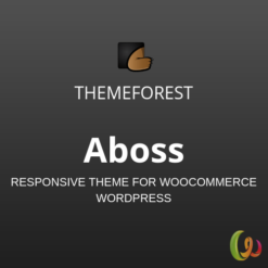 Aboss – Responsive Theme