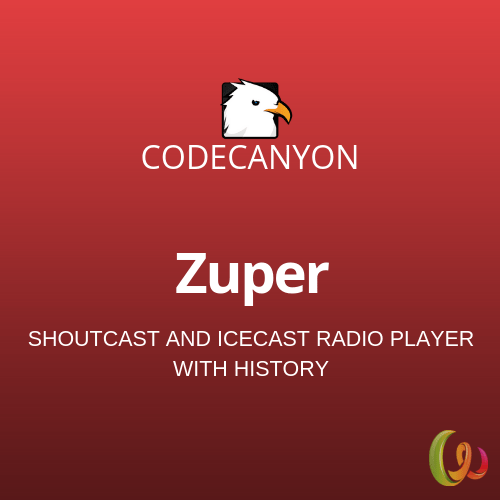 Zuper – Shoutcast and Icecast Radio Player 2 1 1