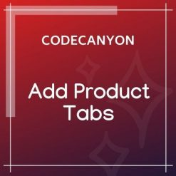 Add Product Tabs